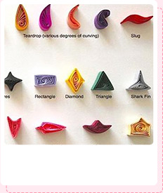 Basic Paper Quilling Shapes Instructions