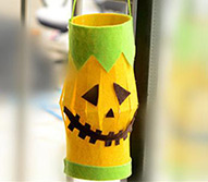 Halloween Hanging Decoration Ideas - How to Make Halloween Lantern Crafts