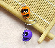 How to Make Wire Ear Cuff with Skull Beads for Beginners