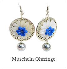 Muscheln Ohrringe