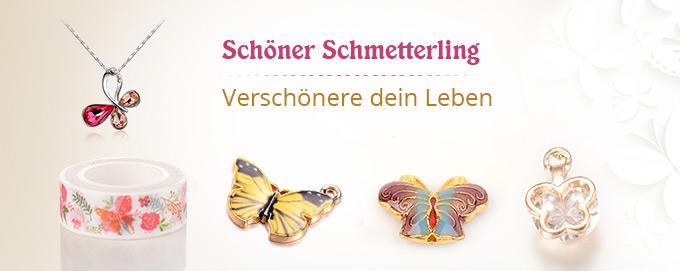 Schöner Schmetterling Verschönere dein Leben