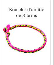 Bracelet d'amitié de 8-brins