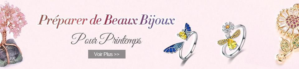 Préparer de Beaux Bijoux Pour Printemps